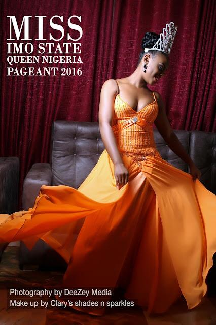 Exclusive photos: Imo state Queen Jecinta Okonkwo releases official photos.