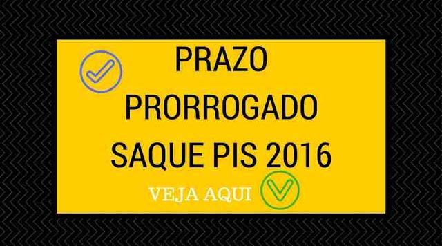 Prorrogado prazo para sacar PIS 2016