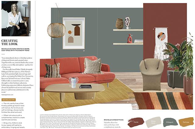 Dulux Colour Trends 2018 My Interpretation Of Kinship