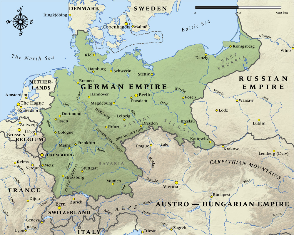 1913 a bad year for germany