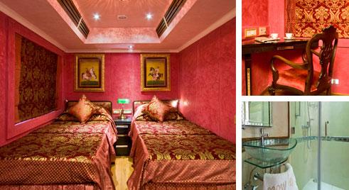 Royal Rajasthan on Wheels Facilities