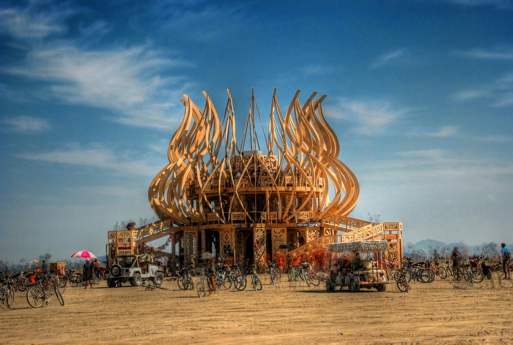 Burning Man Festival In Nevada