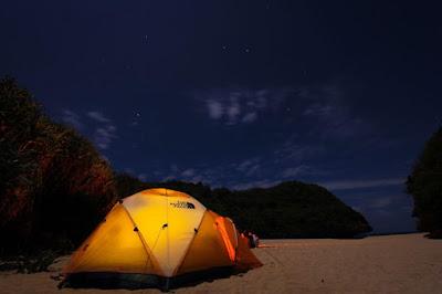 camping di pantai greweng jogja