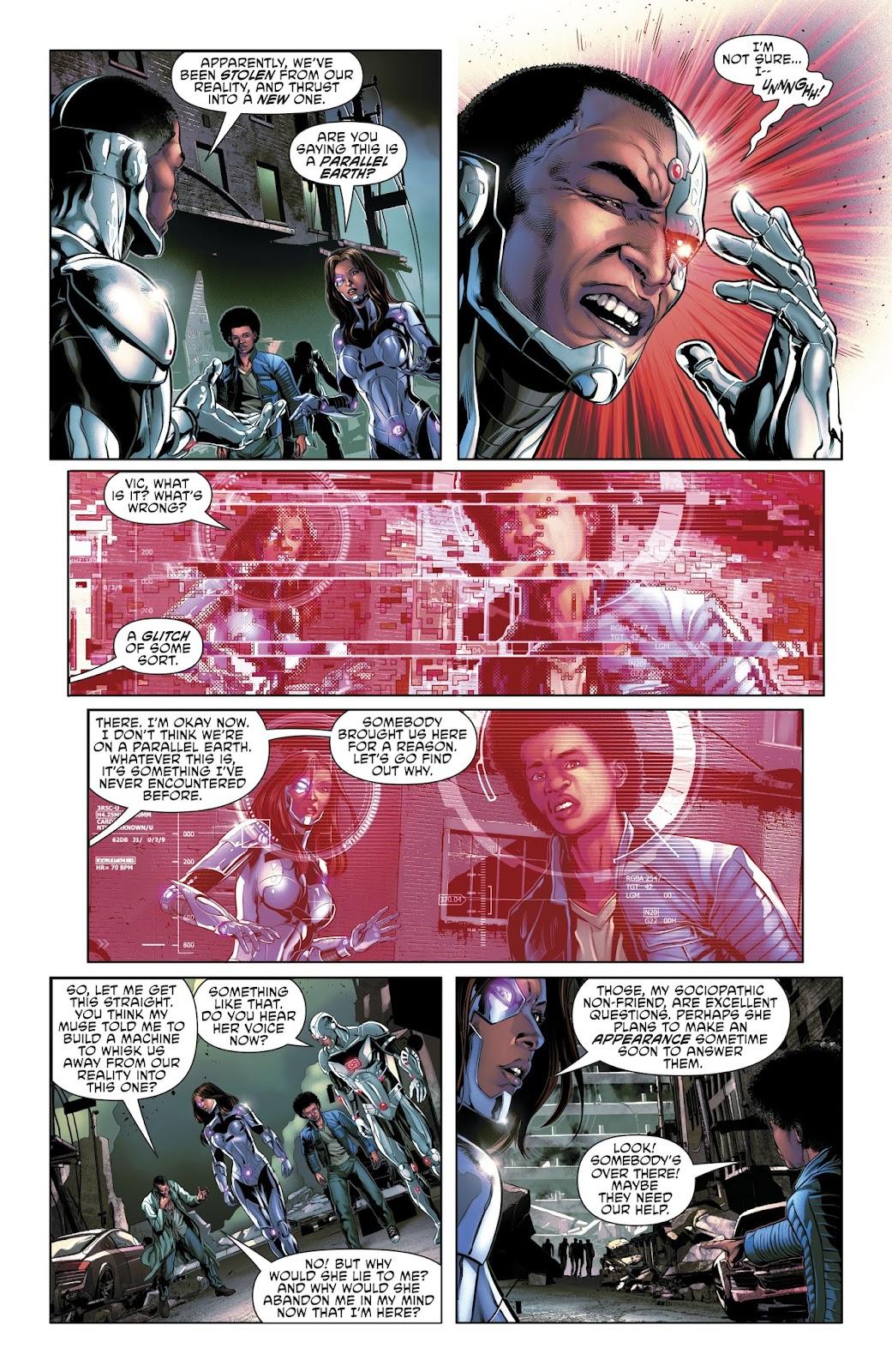 Read online Cyborg (2016) comic -  Issue #14 - 13