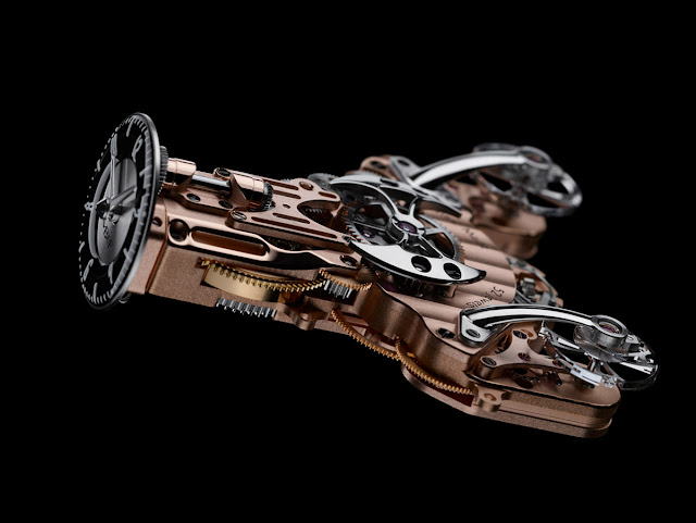 MB&F Horological Machine N°9 'Flow', movement