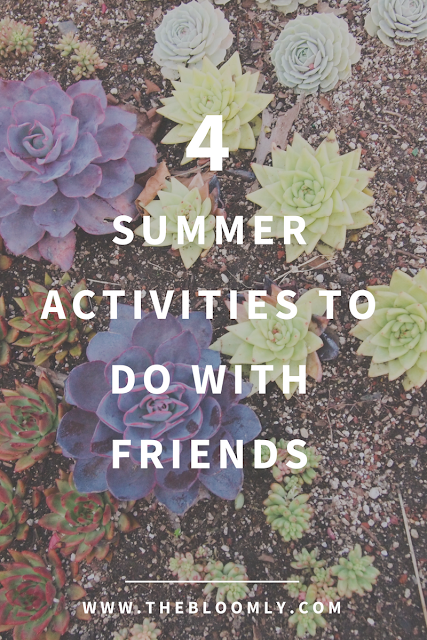 4 Summer Activities to Do With Friends