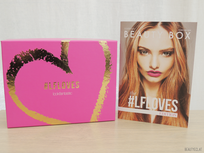 lookfantastic beauty box fevrier 2016 revue avis test