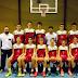 La Selección Sevillana Cadete Masculina, preparada para el Campeonato de Selecciones Provinciales de Montilla (Córdoba).