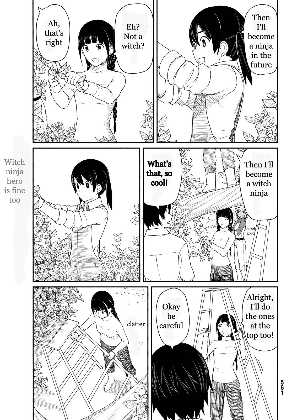 Flying Witch - Chapter 26