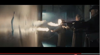 GANGSTER SQUAD - movie massacre, screen capture