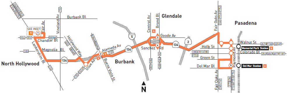 CDD Topics Metro Line 501 Connects Glendale to San Fernando and San