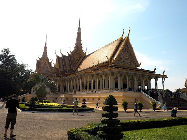 Throne room building in the Royal Palace in Phnom Penh, Cambodia
