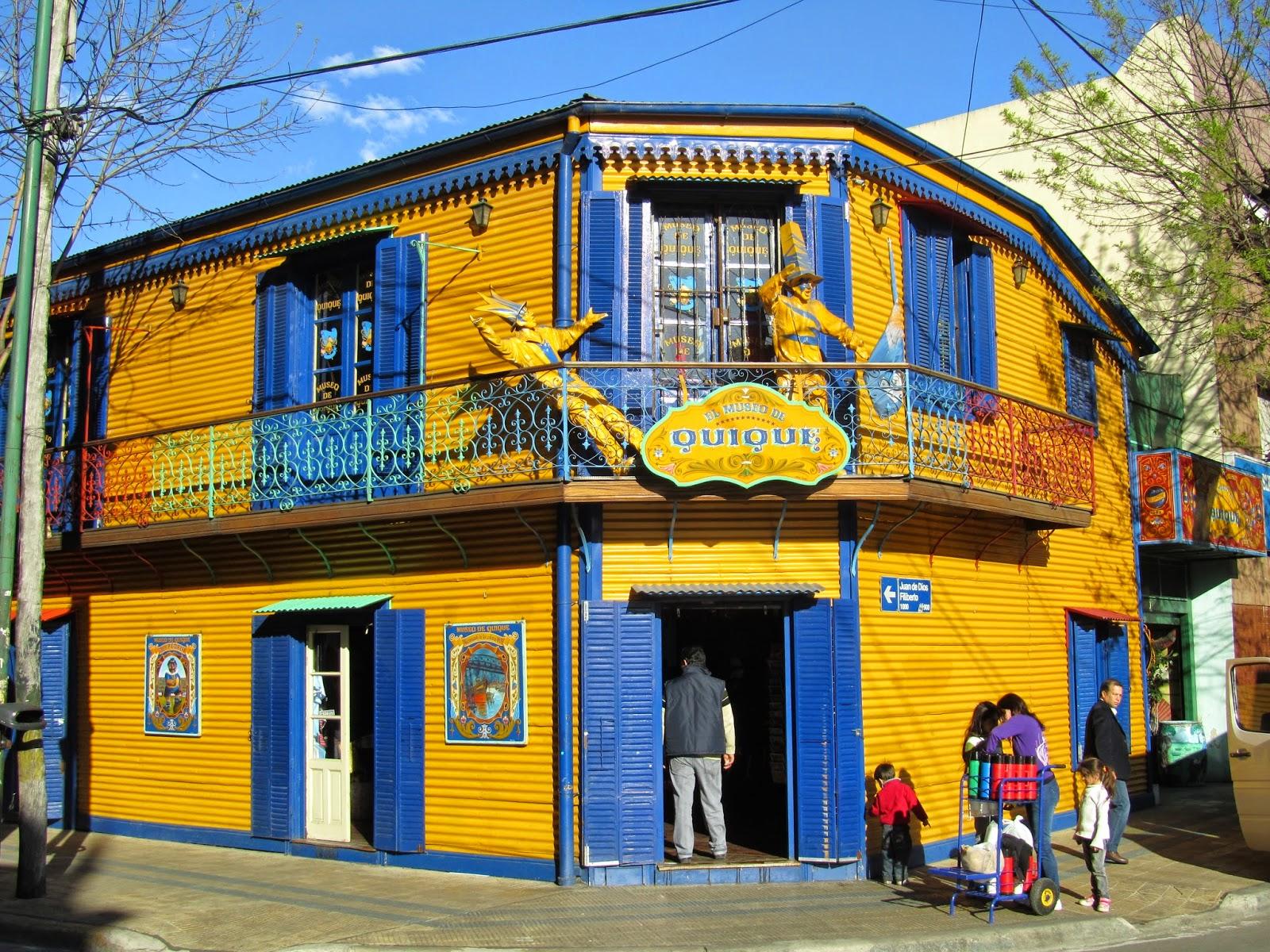 Caminito in La Boca Buenos Aires argentina