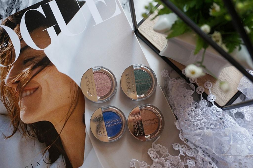 Sensique skin top color eyeshadow cienie do powiek makijaż