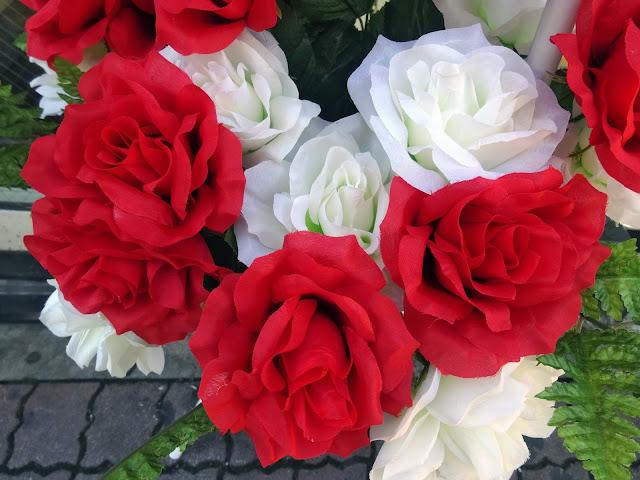 薔薇,バラ,造花〈著作権フリー無料画像〉Free Stock Photos