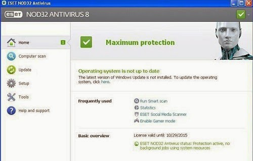 ESET NOD32 Antivirus 8 License Key