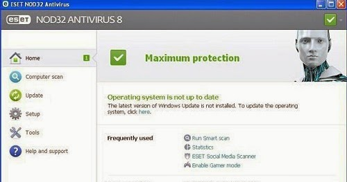 ESET NOD32 Antivirus 8 License Key Full Version Free