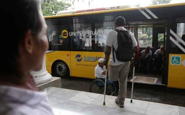 Bus Ramah Disabilitas untuk Asian Para Games 2018