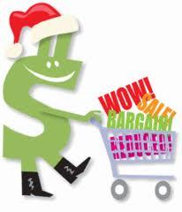 christmas spending cart