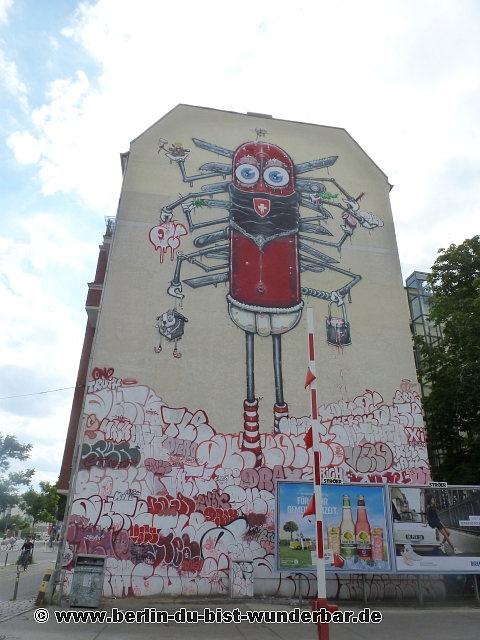 street art in berlin 50 berlin du bist wunderbar unbekannte orte street art urbex. Black Bedroom Furniture Sets. Home Design Ideas
