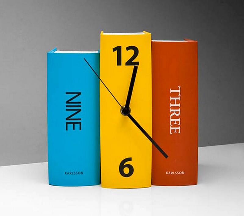 Creative Clocks By Karlsson Clocks Bonjourlife