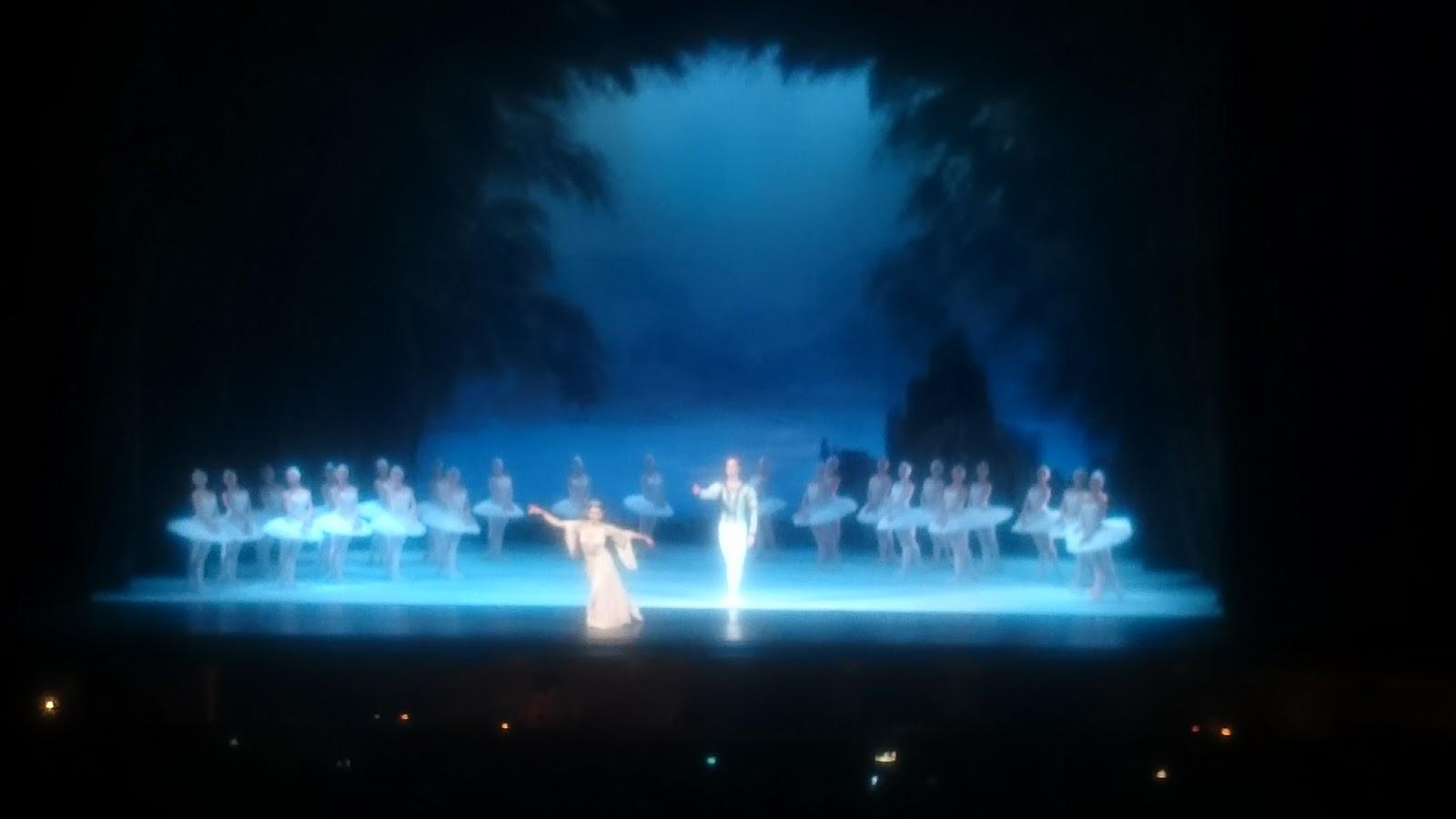 "Stanislávski Nemirovitch-Dantchenko - ""O Lago dos Cisnes"""