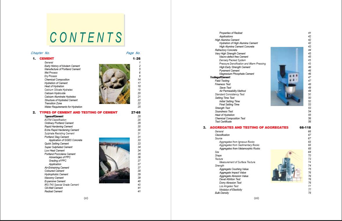 Concrete Technology Ms Shetty Ebook