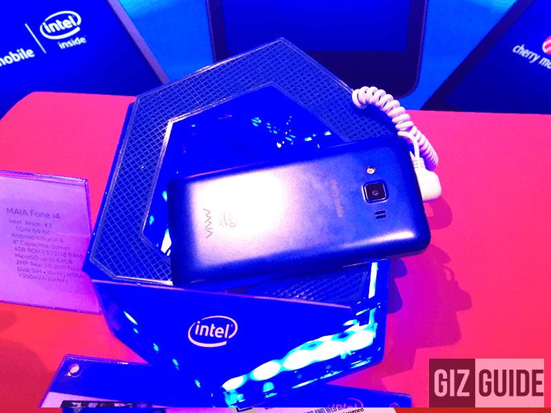 Cherry Mobile Mobile MAIA Fone i4 Announced! A Cheaper SoFIA Phone Priced At 1,999 Pesos!