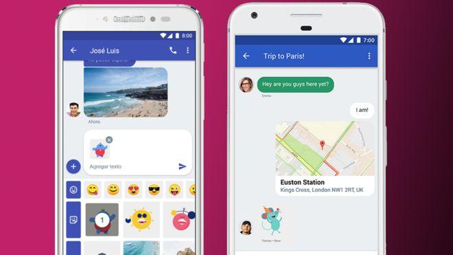 Samsung y Google se alían contra Whatsapp