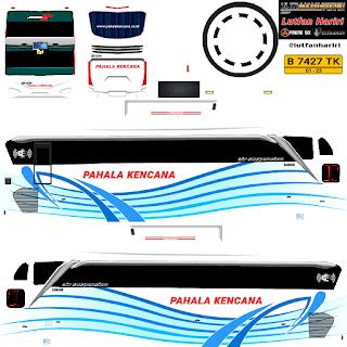 Download Livery Bus Pahala Kencana HD