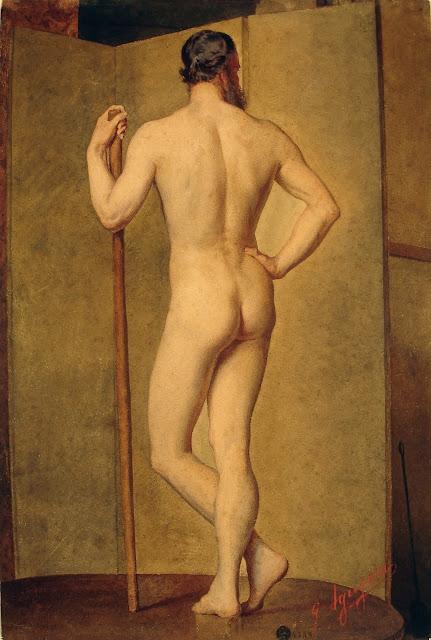 Giuseppe Aguiari: Nudo Maschile