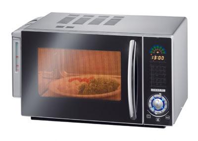 cocinar recetas para horno en el microondas