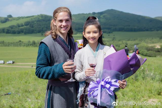 Dylan Sprouse Lin Siyi SNH48 Turandot