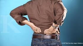 Cara hilangkan sakit belakang