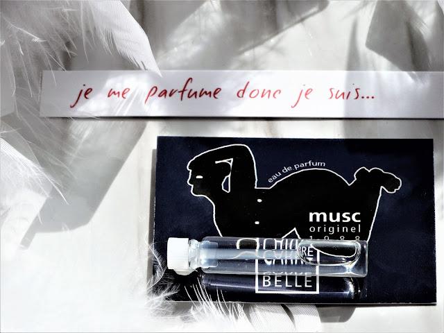 avis Musc Originel de Carrément Belle, parfum femme, parfum homme, blog parfum, avis parfum, perfume review