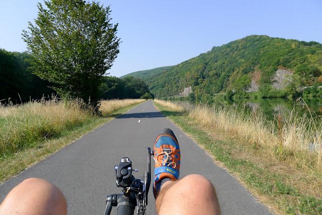 Tour de la Belgique en vélo, La Meuse