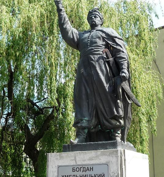Стрий. Пам'ятник Богдану Хмельницькому