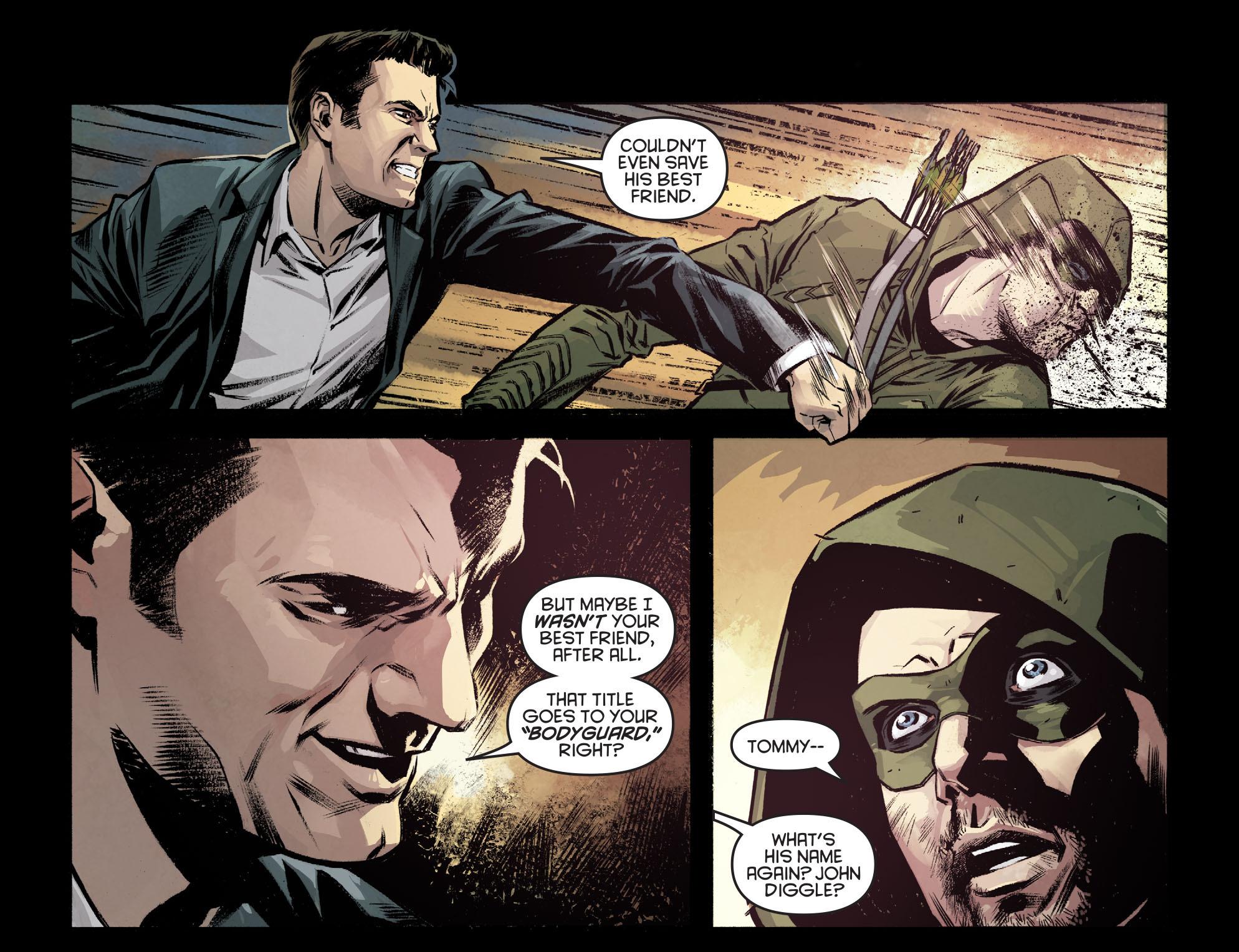 Read online Arrow: Season 2.5 [I] comic -  Issue #7 - 12