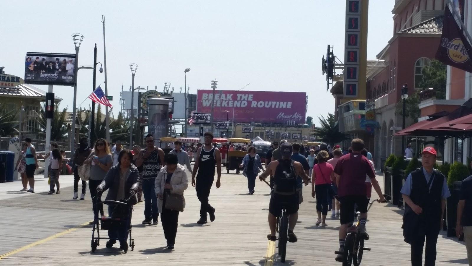 Staten Island To Jersy Boardwalk