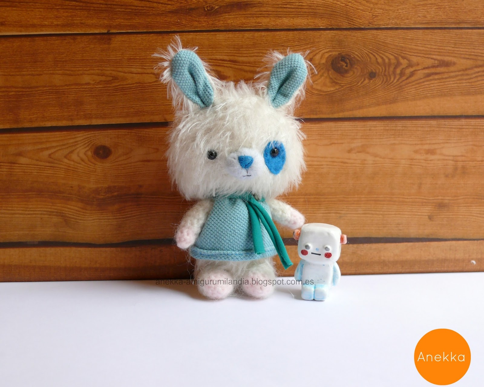 cute  teddy bear mohair doll amigurumi