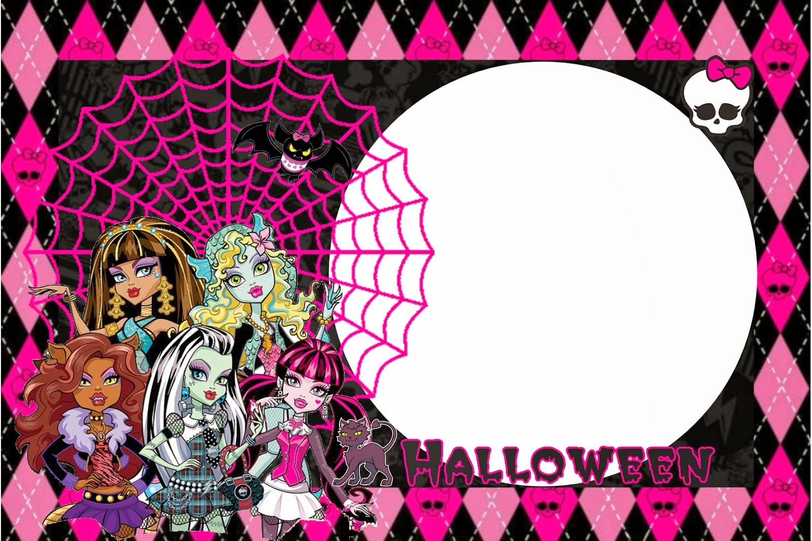 Monster High Halloween Special Free Printable Kit Oh My