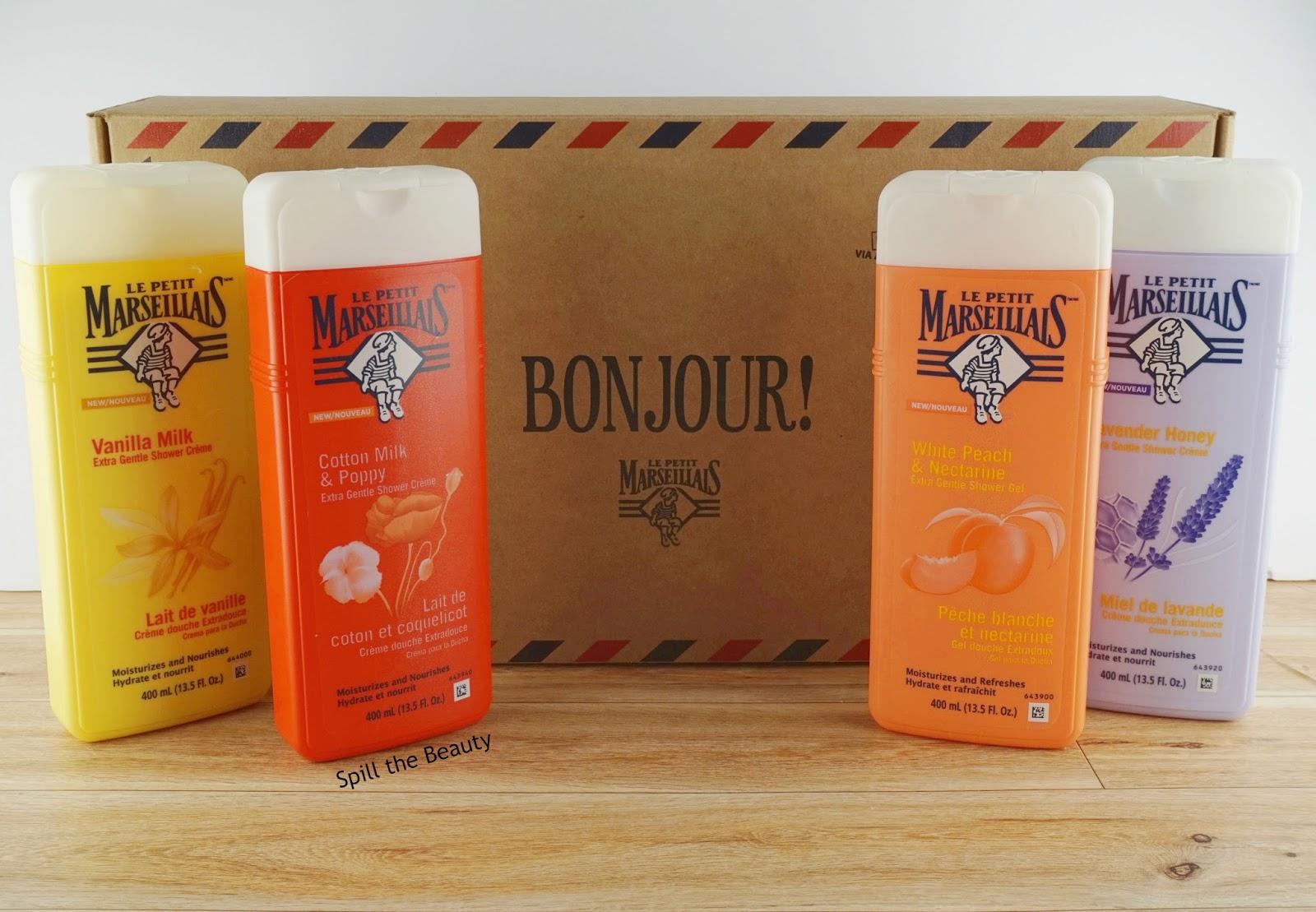 Le Petit Marseillais Extra Gentle Shower Products