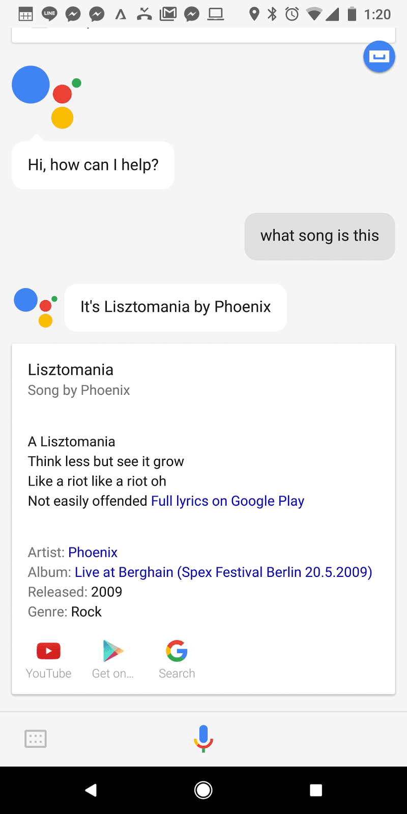How to find a song by excerpt The answer is 79