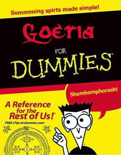 Goetia for Dummies