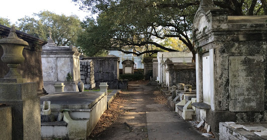 Lafayette Cemetery No.1—Not as Creepy as I Anticipated