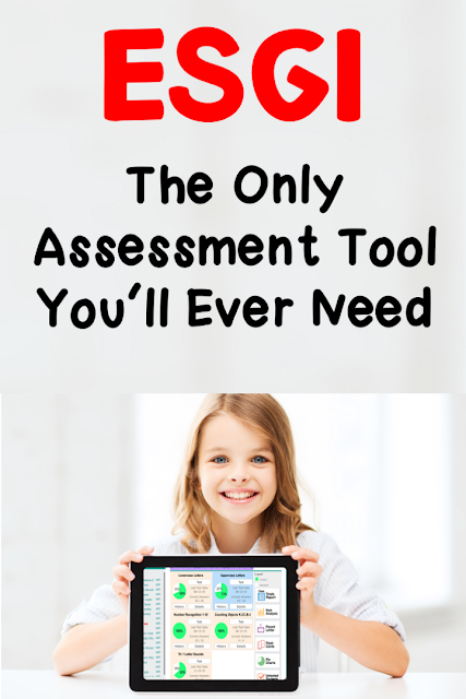 Save time with assessments  use ESGI