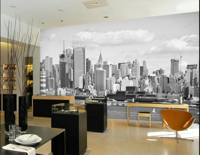 Lukisan dinding kamar minimalis
