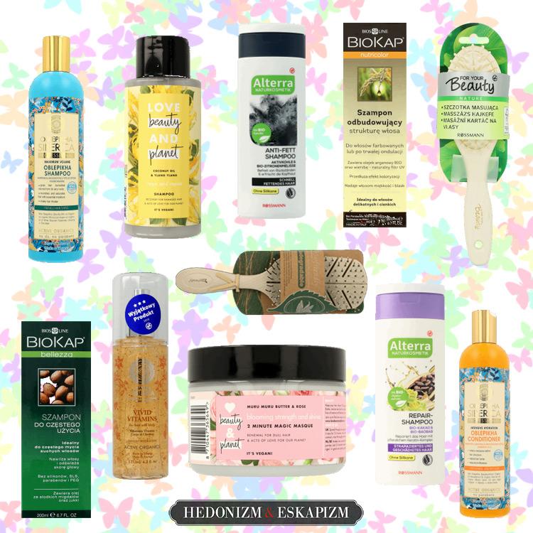 Rossmann promocja 2+2 włosy kosmetyki naturalne i akcesoria