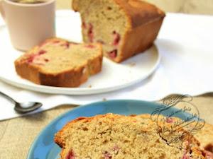 Cake framboise et thé Earl Grey