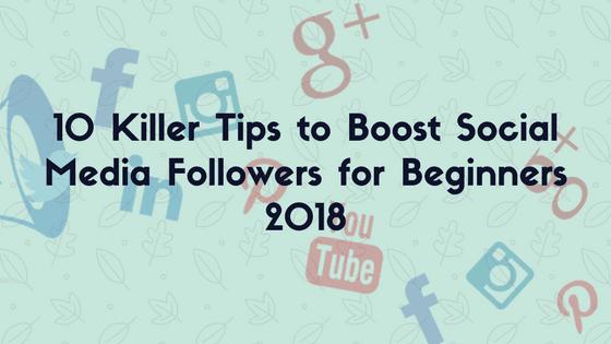 boost social media followers
